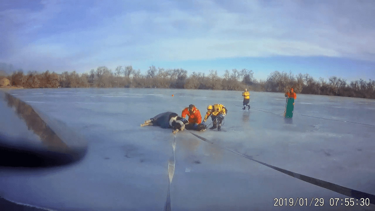 Fuente: YouTube/Loveland Fire Rescue Authority