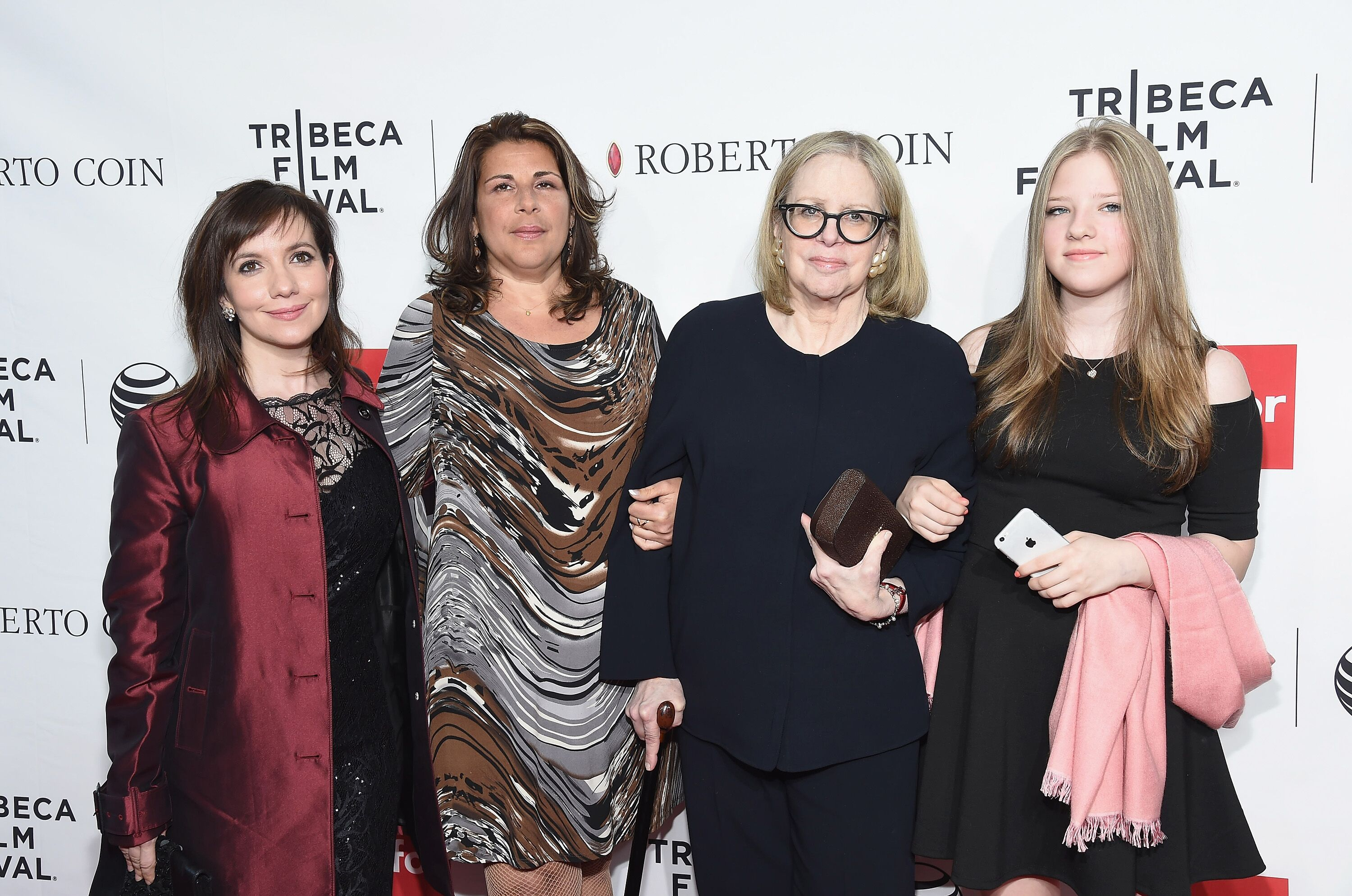 Domenica Cameron-Scorsese, Cathy Scorsese, Helen Morris and Francesca Scorsese attend the closing night screening of 'Goodfellas' during the 2015 Tribeca Film Festival at Beacon Theatre. | Source: Getty Images