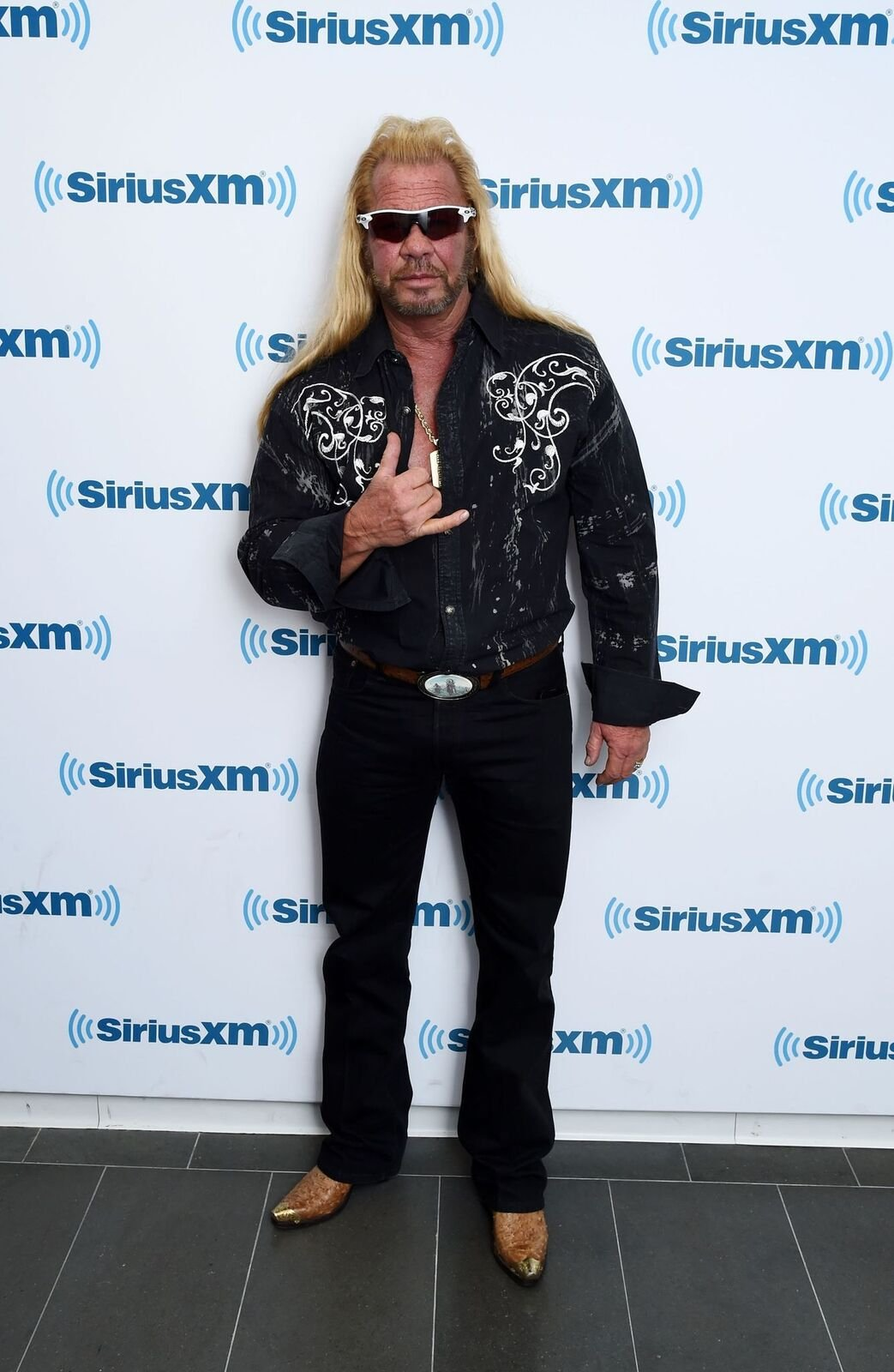 Dog the Bounty Hunter, Duane Chapman visits the SiriusXM Studios on April 24, 2015 | Photo: Getty Images