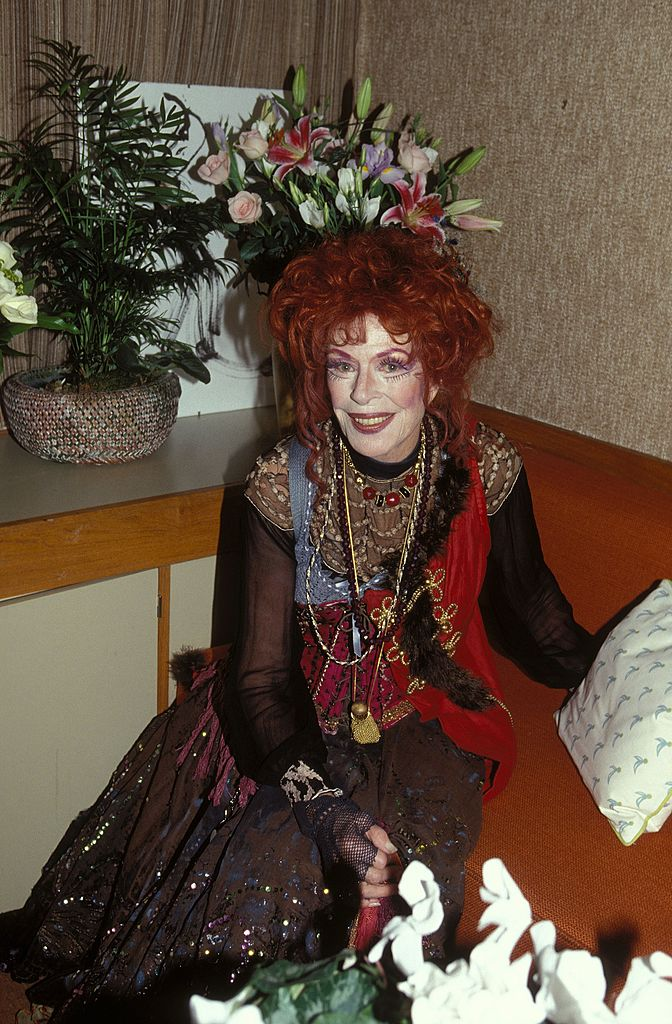 "Madeleine Robinson pour ""La Folle de Chaillot"" en 1994 