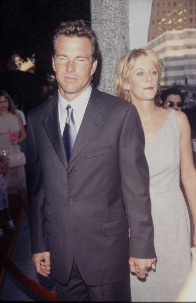 Actor Dennis Quaid and his wife, actress Meg Ryan | Photo: Getty Images