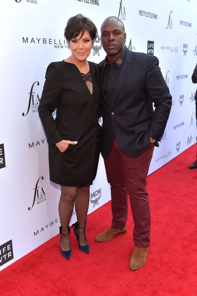 Corey Gamble and Kris Jenner on April 8, 2018 in Beverly Hills, California | Photo: Getty Images