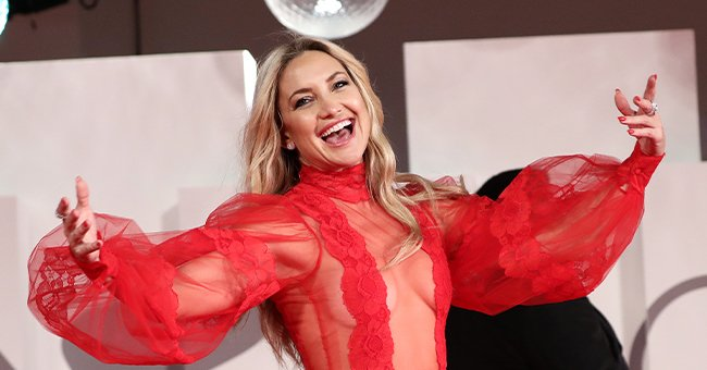 Kate Hudson on September 05, 2021 in Venice, Italy   Photo: Getty Images