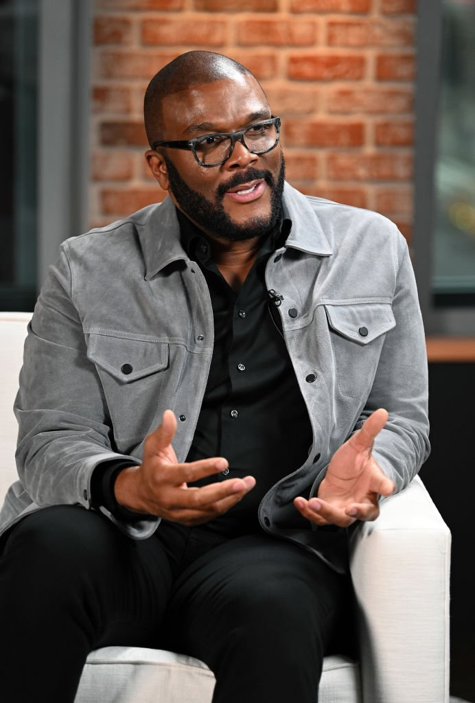 Tyler Perry at the LinkedIn Studios on January 13, 2020 in New York City | Source: Getty Images/GlobalImagesUkraine