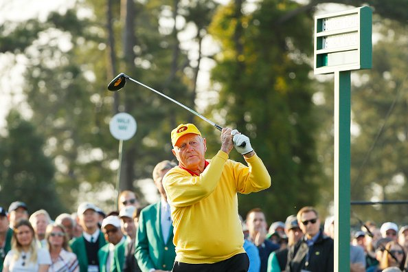 Jack Nicklaus at Augusta National Golf Club on April 11, 2019 in Augusta, Georgia. | Photo: Getty Images