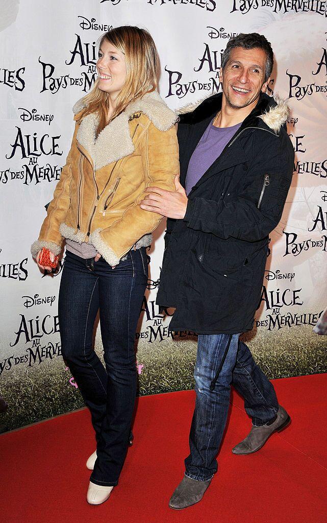 Nagui et Mélanie Page. l Source : Getty Images