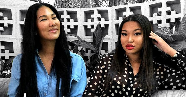 Kimora Lee Simmons' Daughter Ming Shows off Her Figure in a Mini Dress While Posing on a Bench