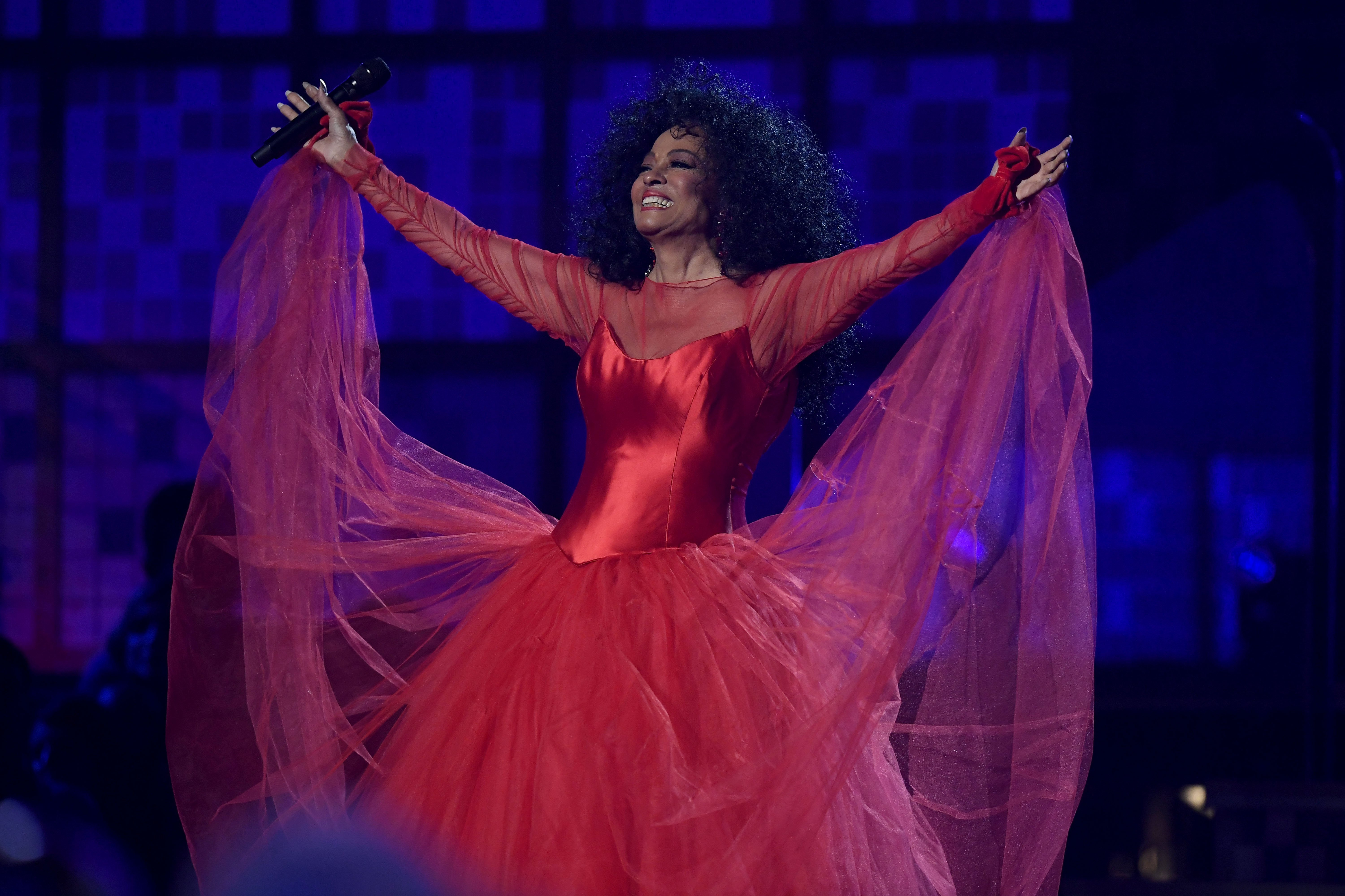 Diana Ross performs onstage during the 61st Annual GRAMMY Awards at Staples Center on February 10, 2019, in Los Angeles, California. | Source: Getty Images.