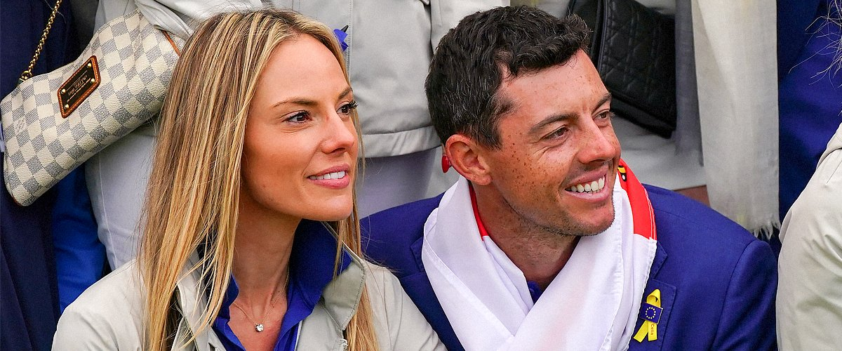 Rory McIlroy of Europe and his wife Erica Stoll during Day Three of the 2018 Ryder Cup at Le Golf National on September 30, 2018 | Photo: Getty Images