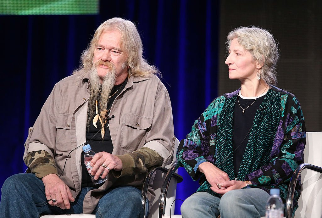 Billy Brown and Ami Brown speak onstage during the 'Animal Planet: Alaska Bush Family' panel discussion, July 2014 | Source: Getty Images