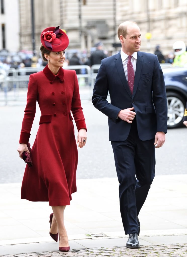 Prince William, Duke of Cambridge and Catherine, Duchess of Cambridge attend the Commonwealth Day Service 2020 at Westminster Abbey on March 09, 2020   Photo: Getty Images