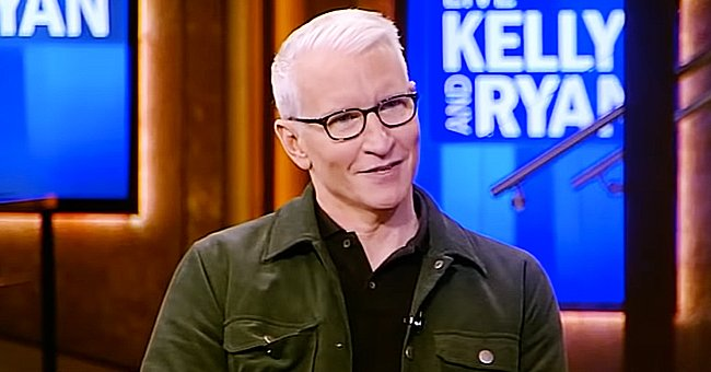 Anderson Cooper & Son Wyatt Look Identical In a Photo He Shared on 'Live with Kelly and Ryan'