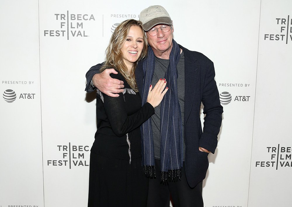 "Alejandra Silva and Richard Gere attend the ""It Takes A Lunatic"" world premiere during the 2019 Tribeca Film Festival at BMCC Tribeca PAC on May 03, 2019 in New York City. I Image: Getty Images."