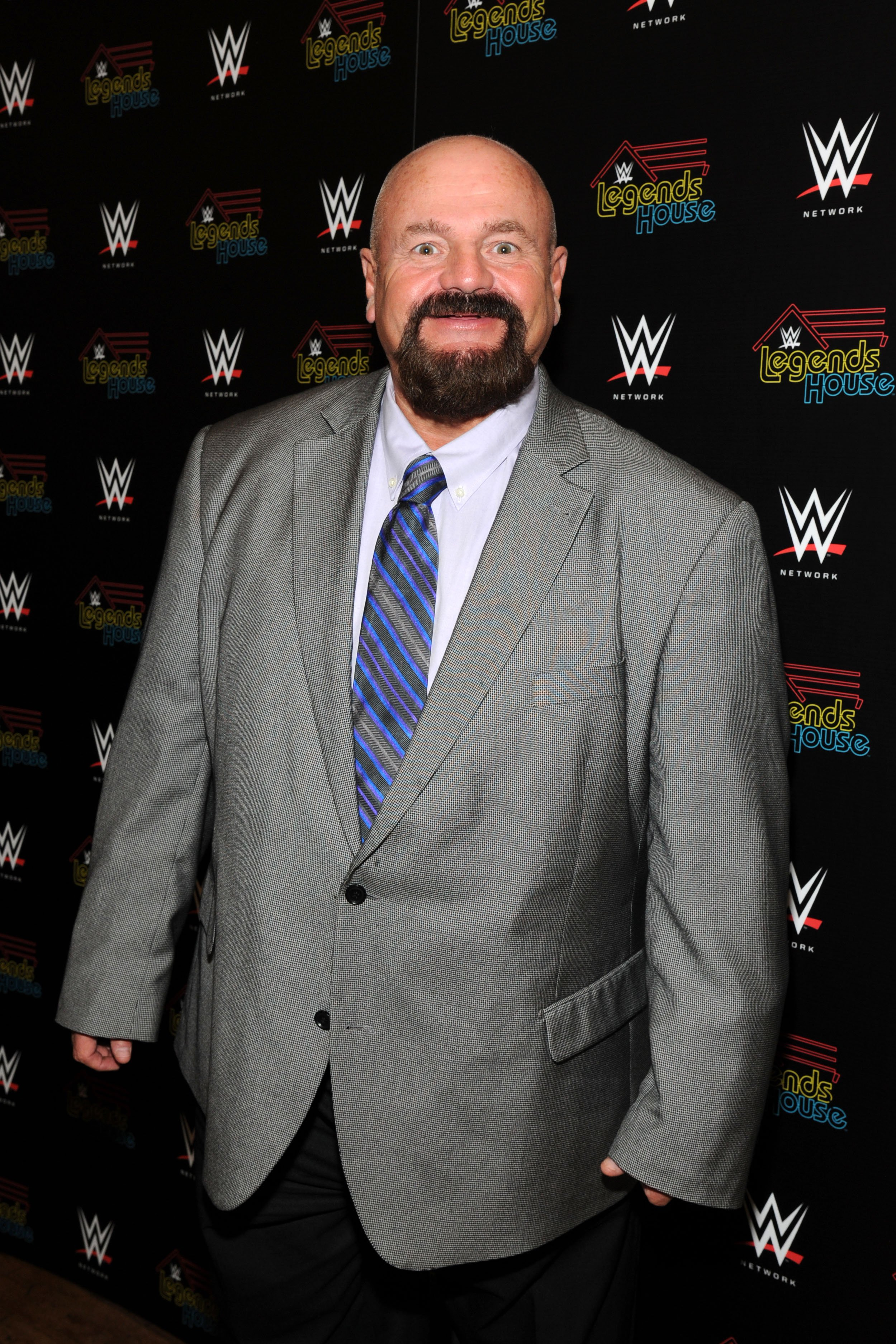 """Howard Finkel attends the WWE screening of """"Legends' House"""" on April 15, 2014, in New York City. 