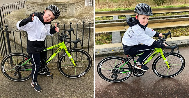 8-Year-Old Boy Starts Charity Bike Ride to Raise Funds to Rescue Dogs from the Dog Meat Trade