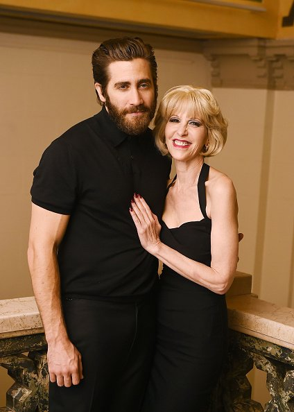 Jake Gyllenhaal and Ellen Greene at Manhattan Theatre Club at New York City Center on July 1, 2015 in New York City. | Photo: Getty Images