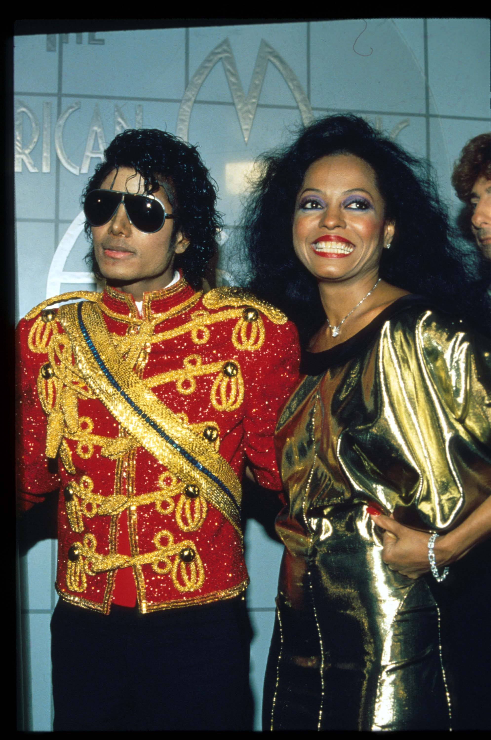 Diana Ross in support of Michael Jackson who received eight awards at the American Music Awards on January 17, 1984 in Los Angeles, CA. | Source: Getty