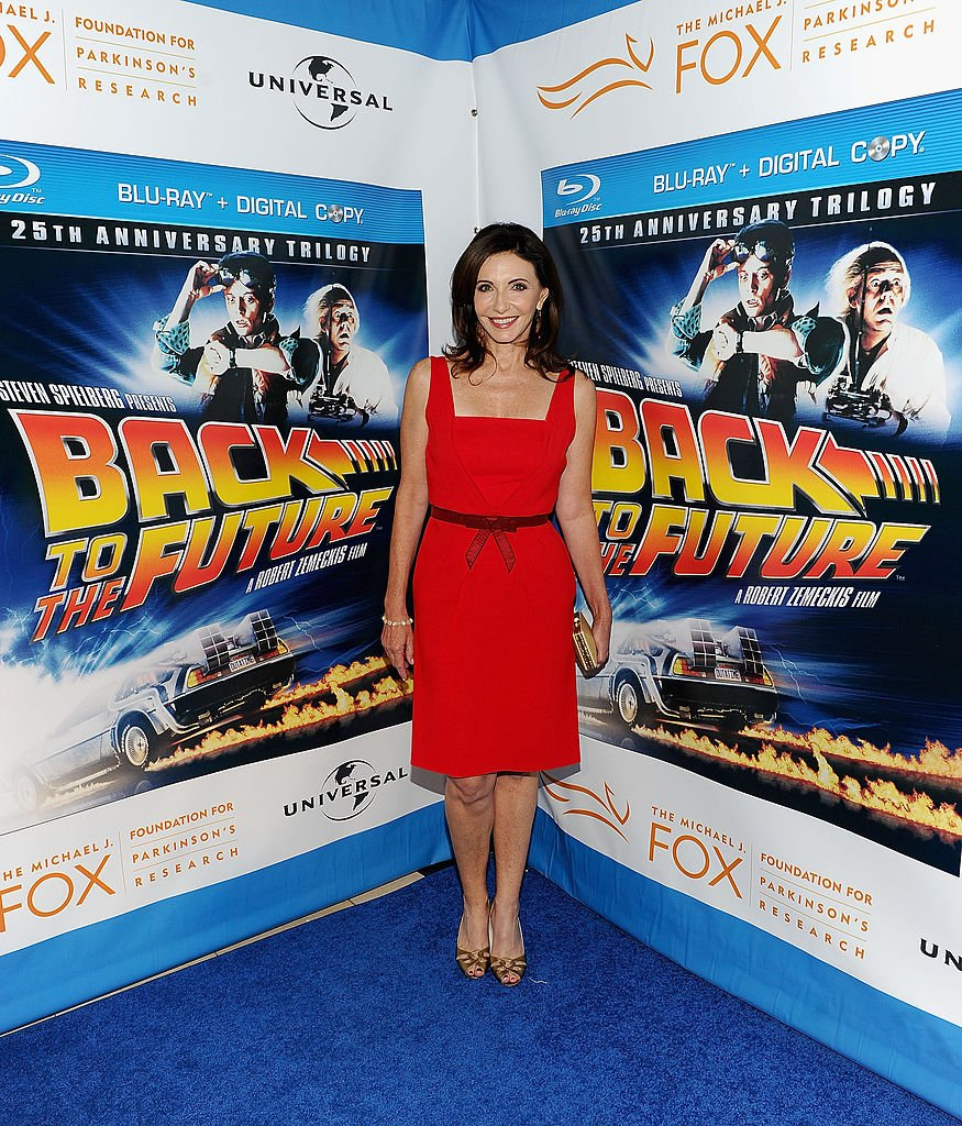 """Mary Steenburgen at the """"Back To The Future"""" 25th anniversary Trilogy Blu-Ray release on October 25, 2010 