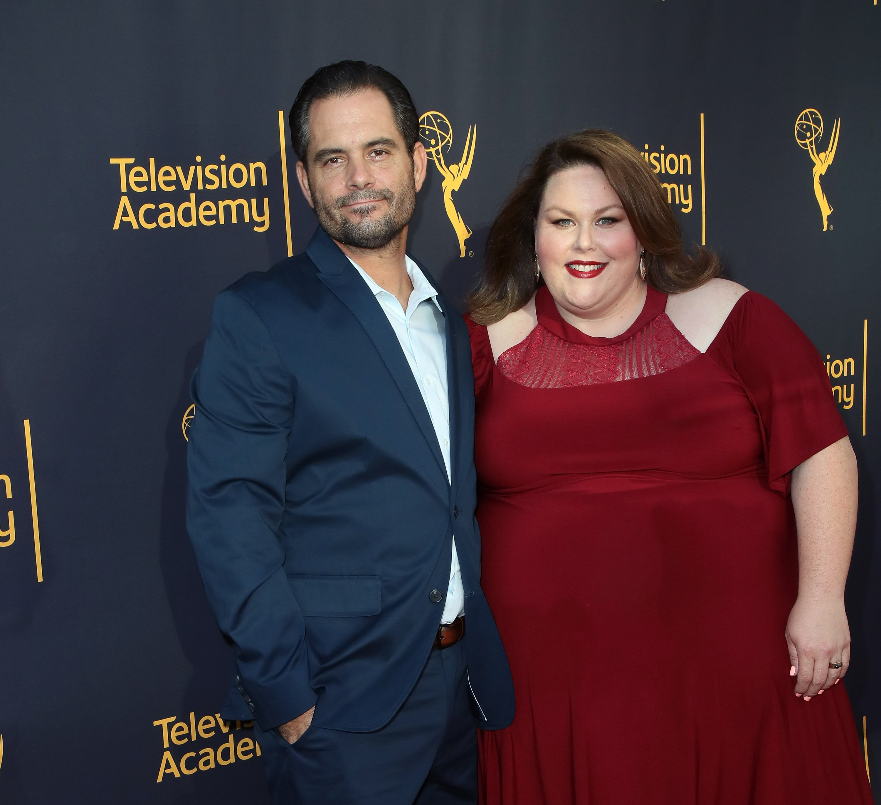 Chrissy Metz et Josh Stancil le 29 juin 2017 à North Hollywood, Californie. | Photo : Getty Images