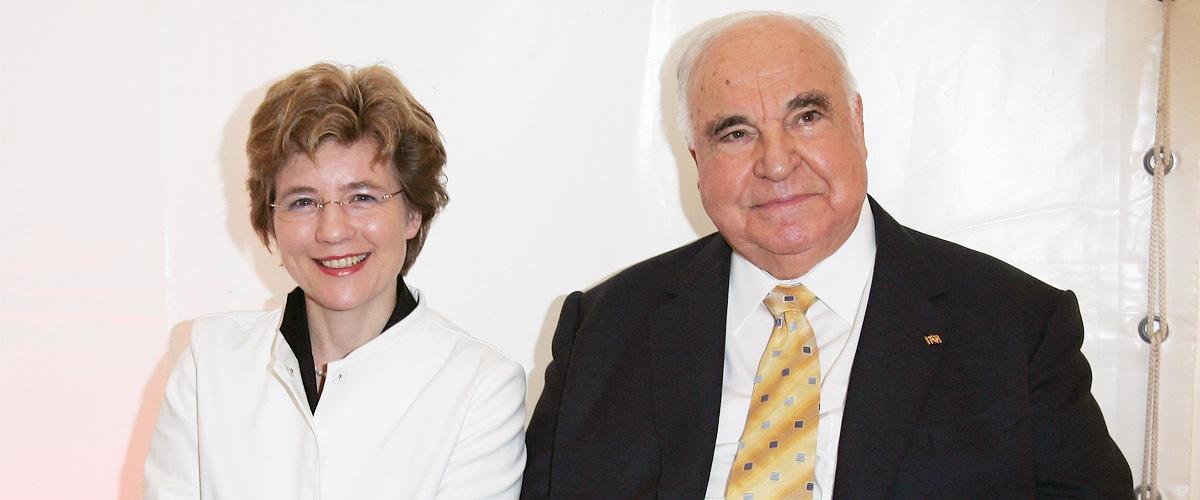 Frau von Helmut Kohl kämpft noch immer