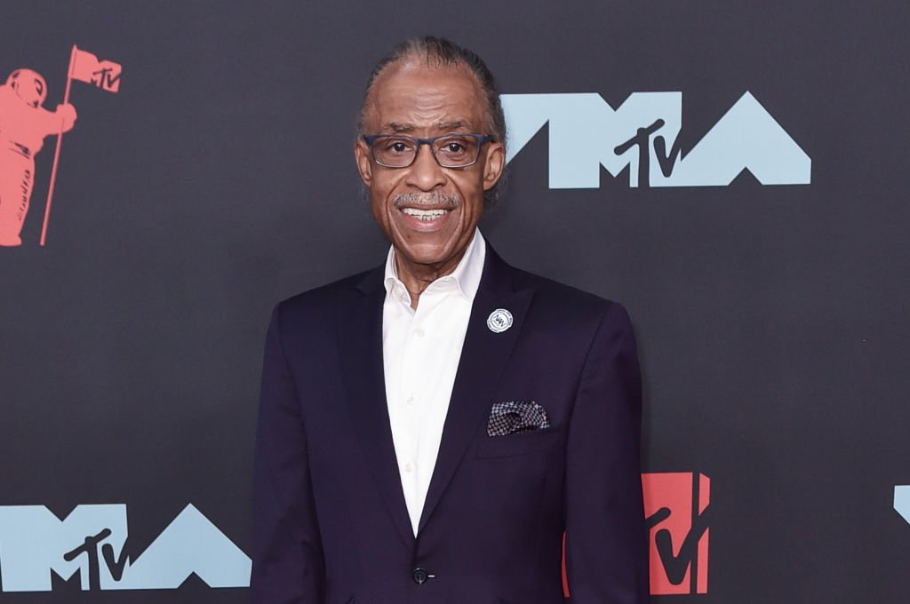 Reverend Al Sharpton attends the 2019 MTV Video Music Awards red carpet at Prudential Center | Photo: Getty Images