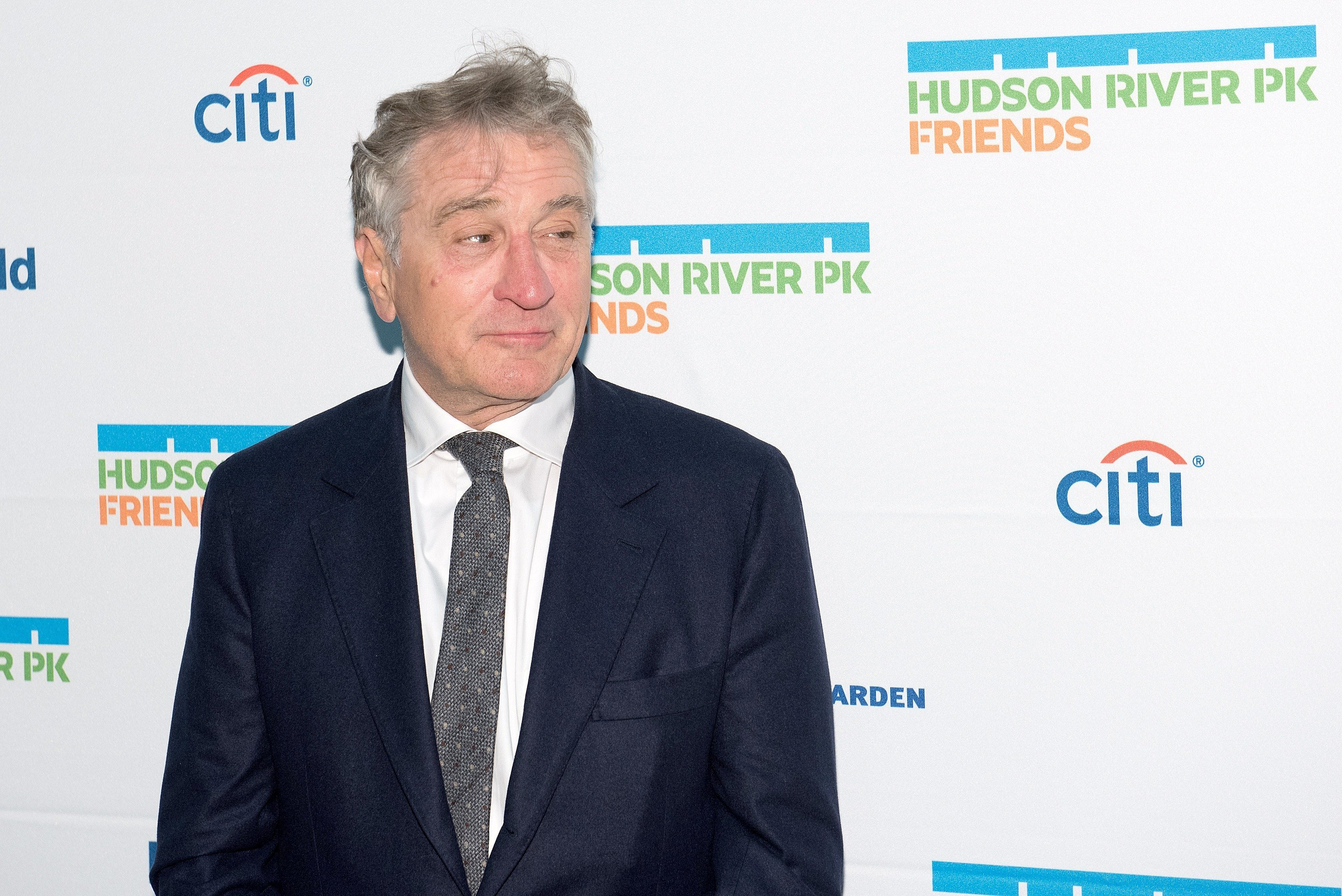 Robert De Niro attends the 2017 Hudson River Park Annual Gala at Hudson River Park's Pier 62 on October 12, 2017, in New York City. | Source: Getty Images.