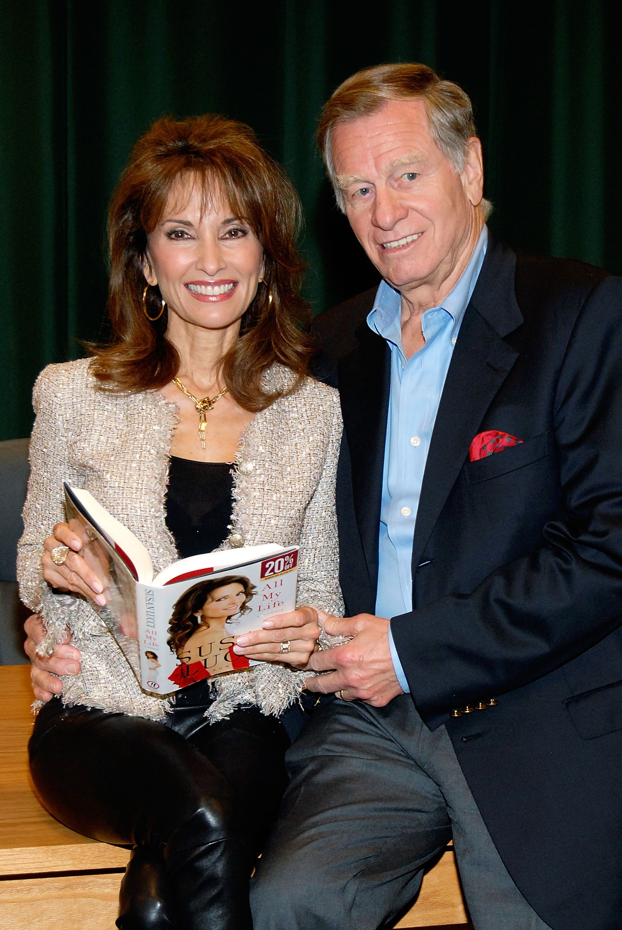 """Susan Lucci and her husband Helmut Huber at the signing of her new book """"All My Life"""" at Barnes & Noble Booksellers on April 12, 2011 