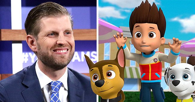 Eric Trump Defends 'Paw Patrol' after Backlash Associated with Supporting Black Voices