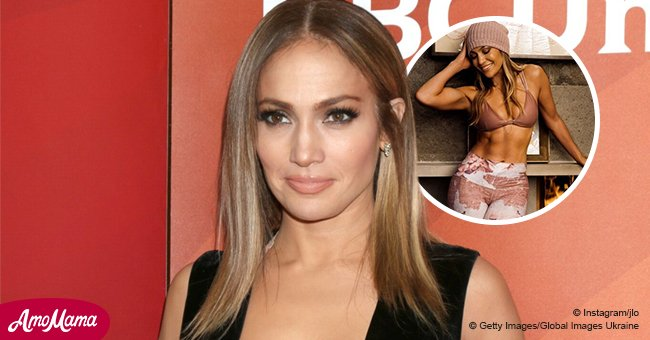 49-year-old Jennifer Lopez stuns fans with her flawless figure in a new photo