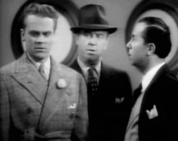 "James Cagney, William Frawler, and Marek Windheim in ""Something to Think About"" (1937). I Image: Wikimedia Commons."