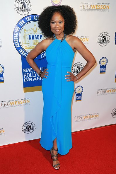 Angela Robinson attends the 27th Annual NAACP Theatre Awards at Millennium Biltmore Hotel in Los Angeles | Photo: Getty Images