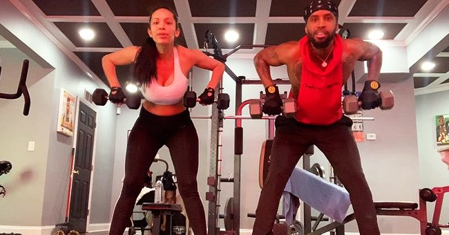 Erica Mena and Safaree of 'Scared Famous' Share Their Home Gym Workout Routine