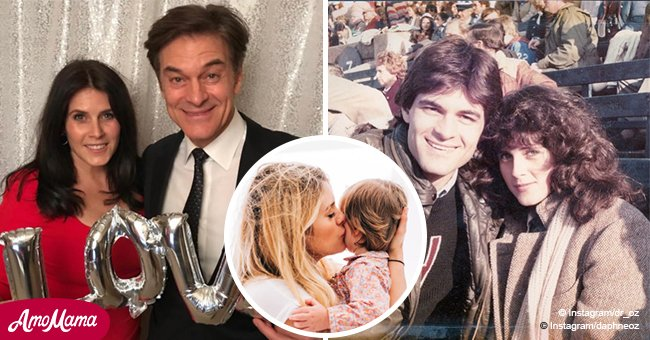 Dr. Oz's daughter is all grown up and following in her parents' footsteps