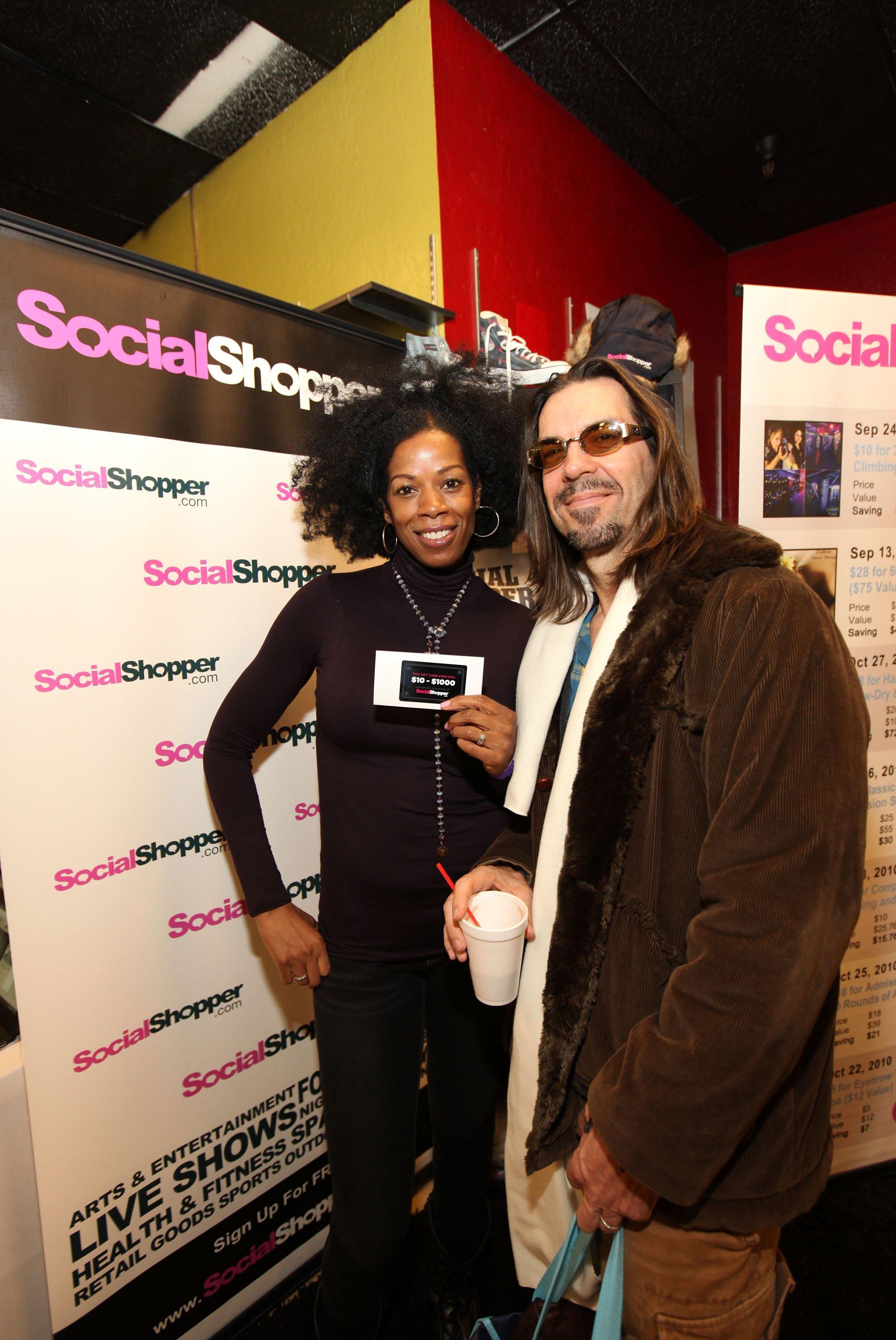 Kim Wayans and her husband Kevin Knotts attend the Kari Feinstein Style Lounge in Park City, Utah on January 22, 2011 in Park City, Utah. | Photo: Getty Images
