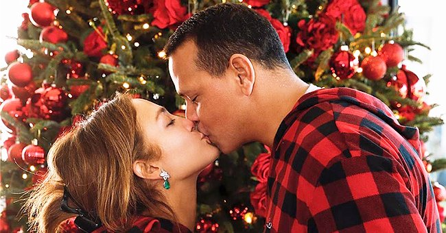 Jennifer Lopez from 'Hustlers' Spends a Merry Christmas with Fiancé Alex Rodriguez