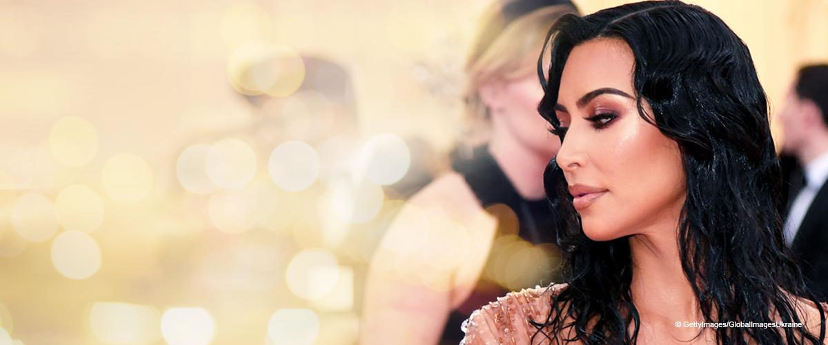 Kim Kardashian West Wears a Wet Look Mugler Dress to the 2019 Met Gala