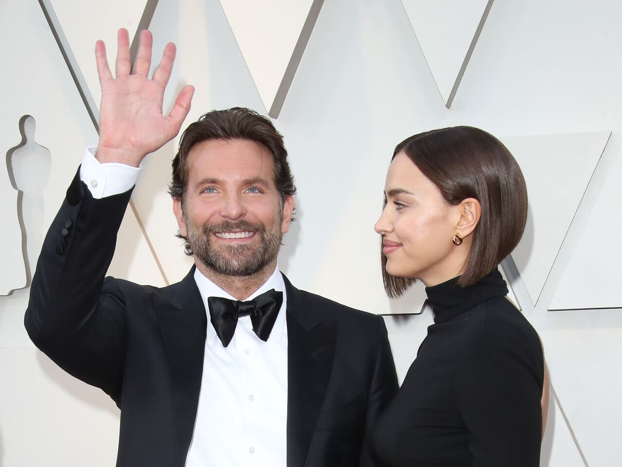 Bradley Cooper and Irina Shayk at the 91st Annual Academy Awards. | Source: Getty Images