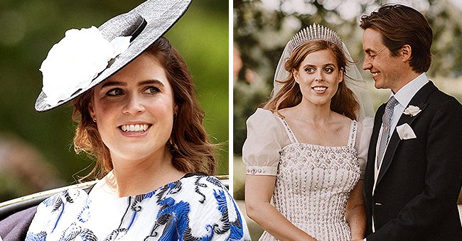 Princess Eugenie Opens up about Her Older Sister Princess Beatrice's Wedding Day