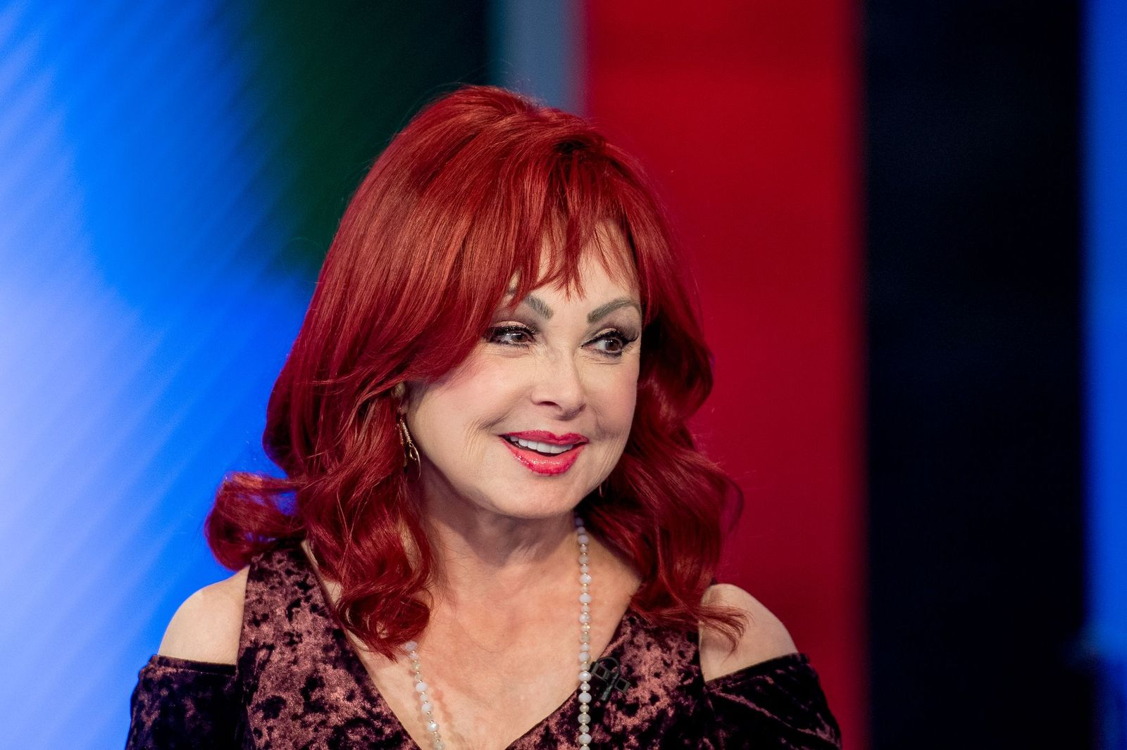 """Naomi Judd visited """"Varney & Co"""" at Fox News Channel Studios on December 8, 2017 in New York City 
