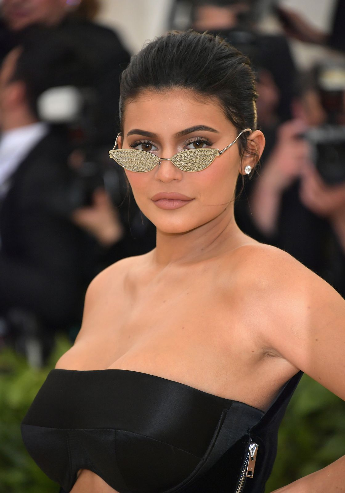 Kylie Jenner at the MET Gala in 2018 in New York City. | Source: Getty Images