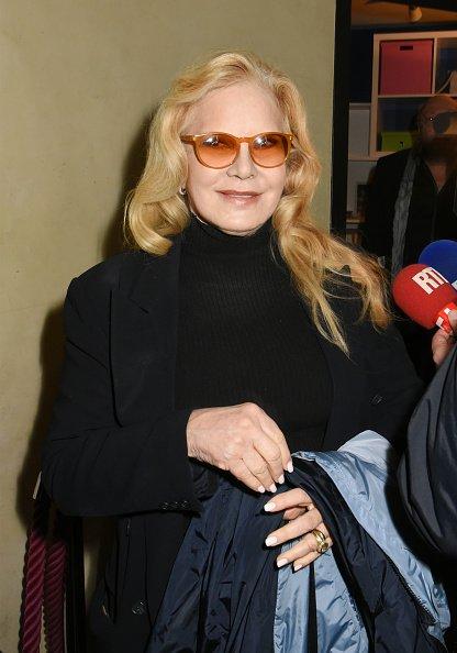 Sylvie Vartan assiste à la projection'Occupe Toi D'Amélie' Hommage à Danielle Darieux au Max Linder le 9 avril dernier | Photo : GettyImage