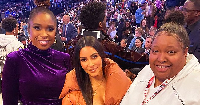 Jennifer Hudson Poses with Kim Kardashian and Chaka Khan in Pics from NBA All-Star Weekend
