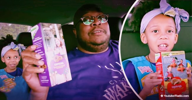 Dad & daughter's remix of Donald Glover's 'Redbone' to sell Girl Scout cookies is still pure gold