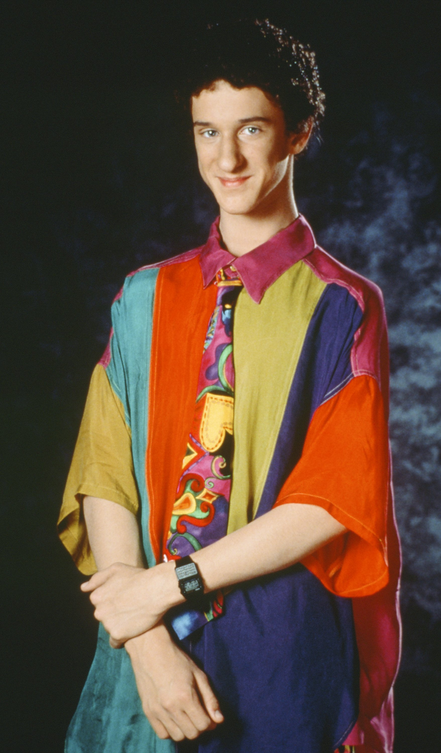 "Dustin Diamond as Screech Powers season 4 ""Saved by the Bell"" 
