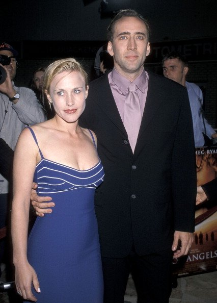 Patricia Arquette and Nicolas Cage on April 8, 1998 at Mann Village Theatre in Westwood, California | Photo: Getty Images