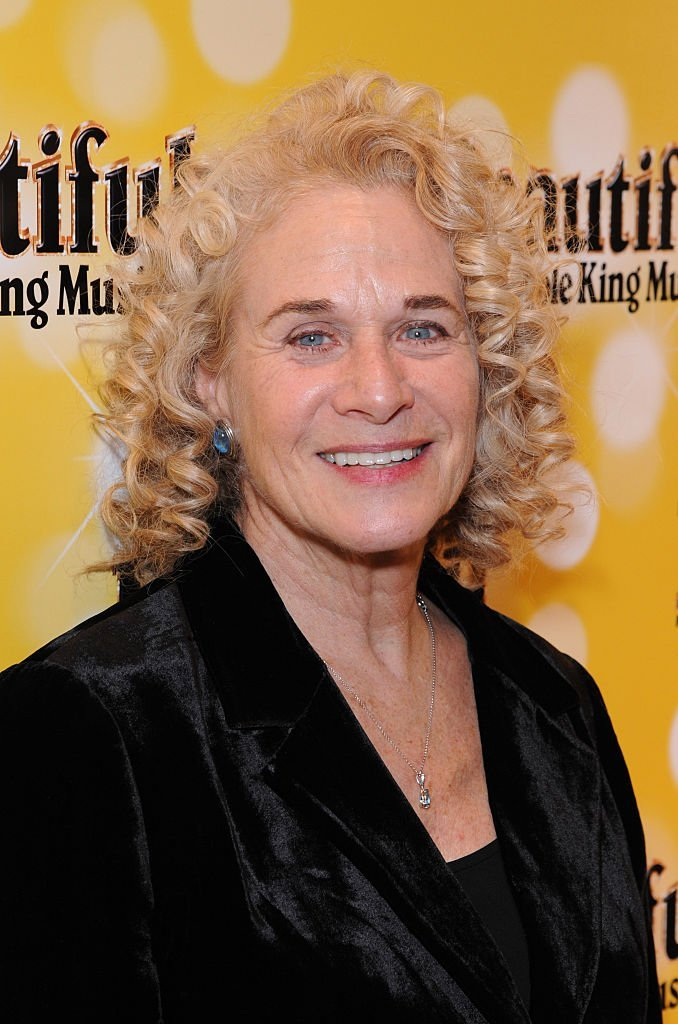 """Carole King attends an after party following the press night performance of """"Beautiful: The Carole King Musical"""" 