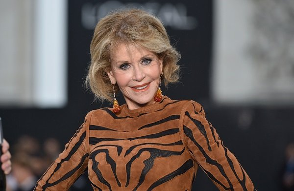 Jane Fonda on October 1, 2017 in Paris, France | Source: Getty Images