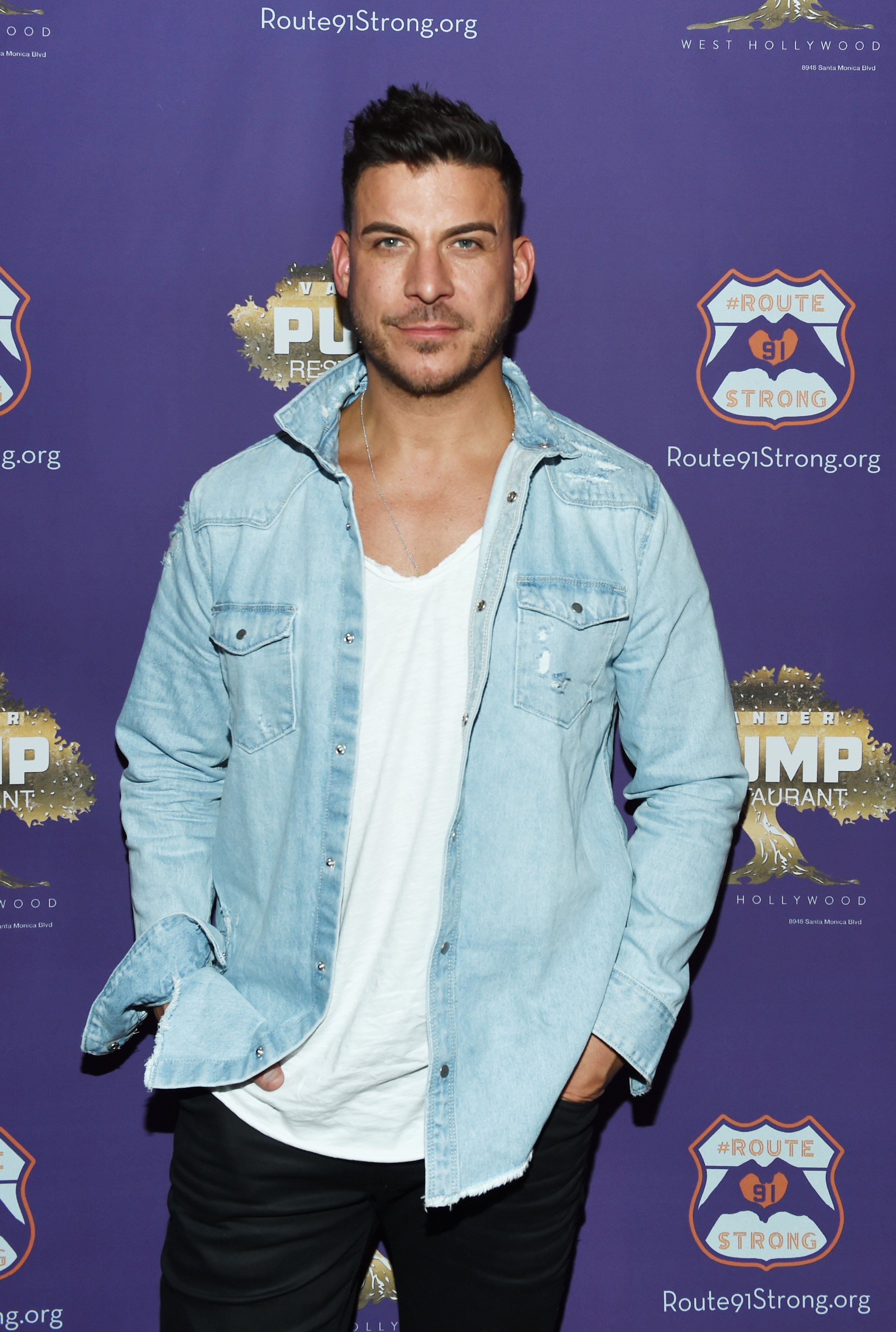 Television personality Jax Taylor attends the 1st annniversary fundraiser for the victims of the October 1st, 2017 Las Vegas Shooting hosted by Lisa Vanderpump and Route91Strong at Pump on October 1, 2018 in West Hollywood, California | Photo: Getty Images