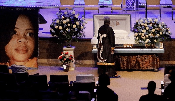 A picture from Atatiana Jefferson's funeral | Source: Getty Images/GlobalImagesUkraine