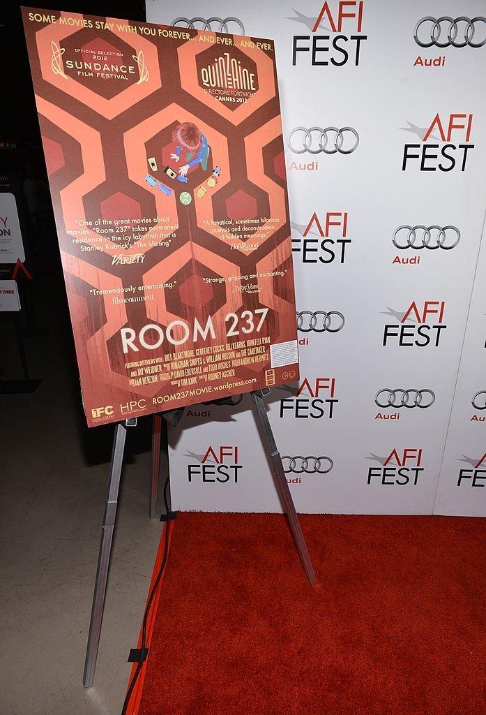 Une vue générale de l'atmosphère lors de la projection spéciale de'Room 237' lors de l'AFI Fest 2012 | Getty Images / Global Images Ukraine